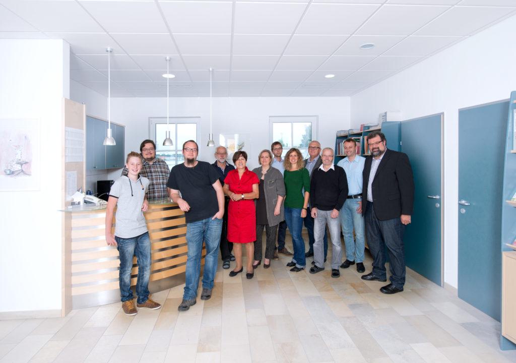 Gruppe Büro